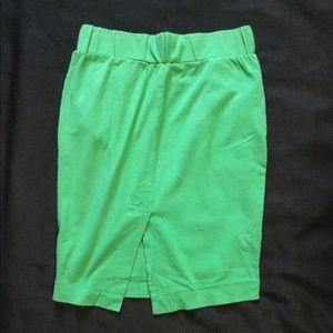 Dresses & Skirts - Green Mini Skirt With Pockets